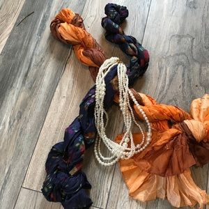 Silky Crinkle Scarves: Perfect!